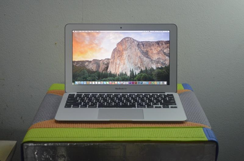 MacBook Air 11-inch Intel Core i5 1.3GHz Ram 4 GB SSD 128 GB Mid 2013 / Intel HD Graphics 5000